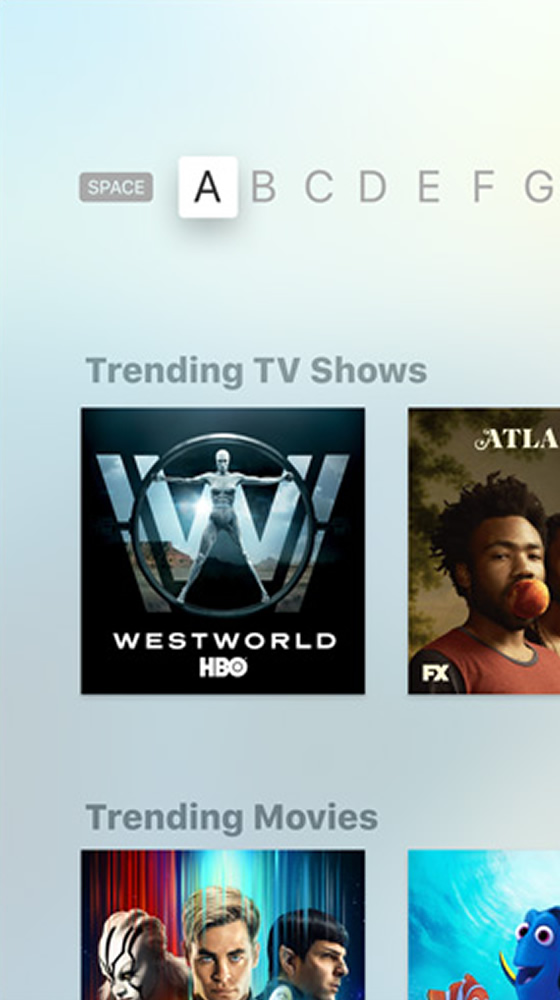 AppleTV Universal Search